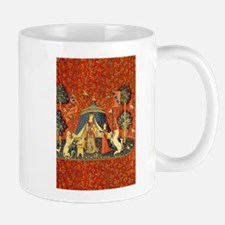 Lady and the Unicorn Medieval Tapestry Art Mugs