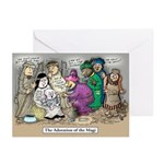 'Twisted Nativity' II Christmas Cards (pack of 6)