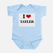 I Love Tayler Body Suit