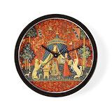 Medieval Wall Clocks