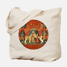 Lady and the Unicorn Medieval Tapestry Art Tote Ba