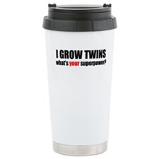 Funny Mother of twins Travel Mug
