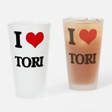 Cool Tori Drinking Glass