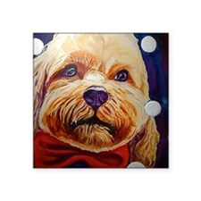 """Bow Wow Ties Are Cool: Dres Square Sticker 3"""" x 3"""""""