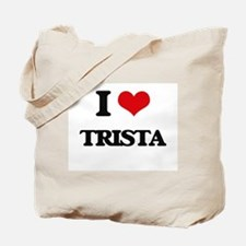 I Love Trista Tote Bag