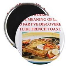 """french toast 2.25"""" Magnet (100 pack)"""