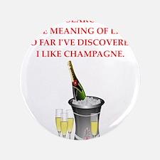 """champagne 3.5"""" Button"""