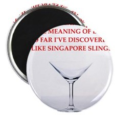 singapore sling Magnet