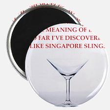 singapore sling Magnet