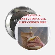 """corned beef 2.25"""" Button"""