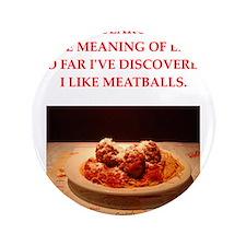 "meatballs 3.5"" Button (100 pack)"