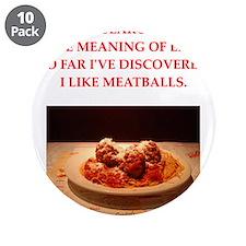 "meatballs 3.5"" Button (10 pack)"