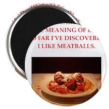 "meatballs 2.25"" Magnet (100 pack)"