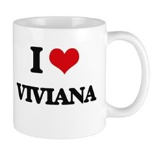 I Love Viviana Mugs