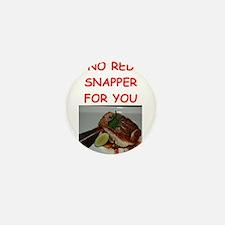 red snapper Mini Button