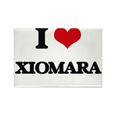 I Love Xiomara Magnets
