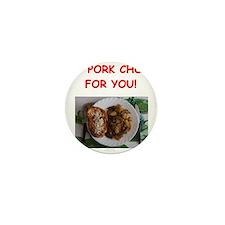 pork chops Mini Button