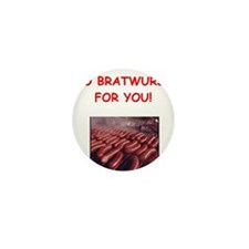 bratwurst Mini Button (10 pack)