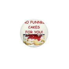 funnel cakes Mini Button