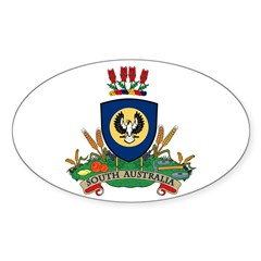 Southern Australia Oval Decal