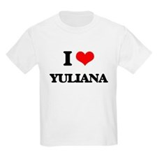 I Love Yuliana T-Shirt