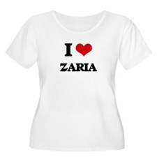 I Love Zaria Plus Size T-Shirt