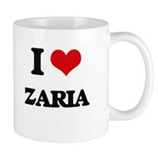 I Love Zaria Mugs
