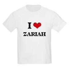 I Love Zariah T-Shirt