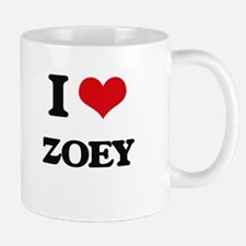 I Love Zoey Mugs