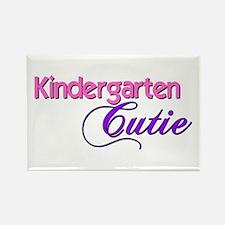 Kindergarten Cutie Rectangle Magnet