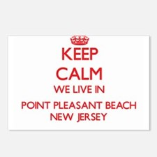 Keep calm we live in Poin Postcards (Package of 8)