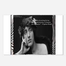 Virginia Woolf & Writing Quote Postcards (Package
