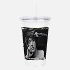 Virginia Woolf & Acrylic Double-Wall Tumbler