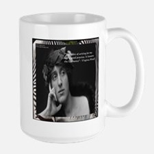 Virginia Woolf & Writing Quote Mugs