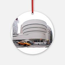 Guggenheim Museum: NYC Ornament (Round)