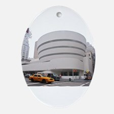 Guggenheim Museum: NYC Ornament (Oval)