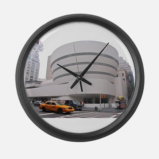 Guggenheim Museum: NYC Large Wall Clock