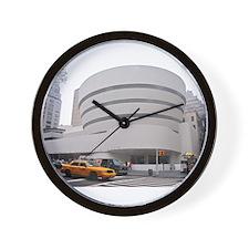 Guggenheim Museum: NYC Wall Clock