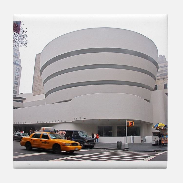 Guggenheim Museum: NYC Tile Coaster