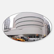 Guggenheim Museum: NYC Decal