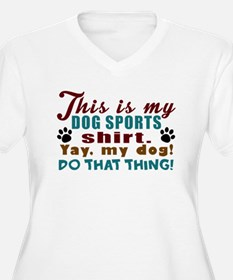 Dog Sports Shirt Plus Size T-Shirt