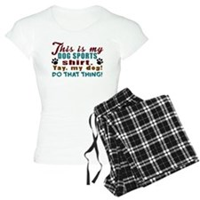 Dog Sports Shirt Pajamas