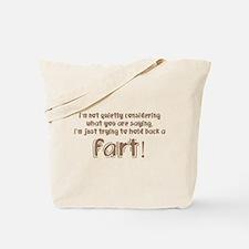 Fart Tote Bag