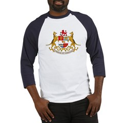Tasmania Coat of Arms Baseball Jersey
