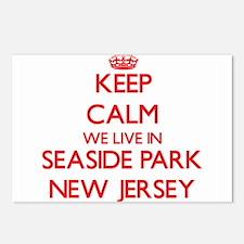 Keep calm we live in Seas Postcards (Package of 8)