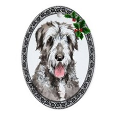Irish Wolfhound Oval Ornament