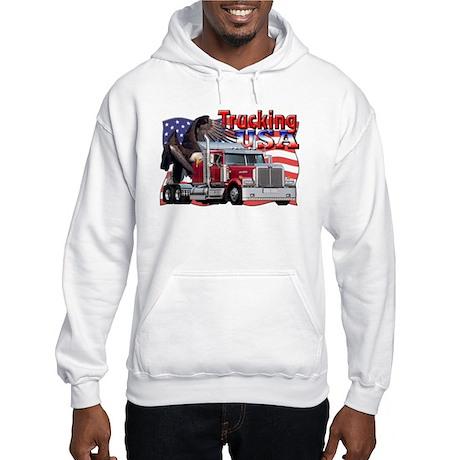 Trucking USA Hooded Sweatshirt
