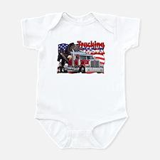 Trucking USA Infant Bodysuit