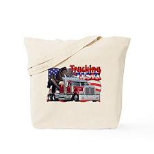 Trucking USA Tote Bag