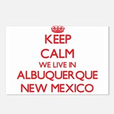 Keep calm we live in Albu Postcards (Package of 8)